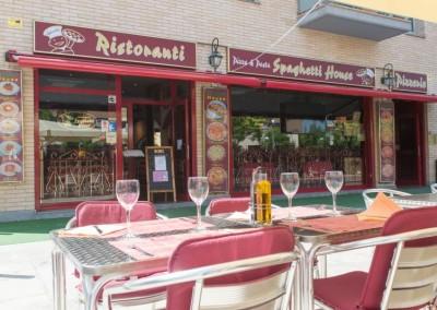 Italian restaurant in Vilaseca