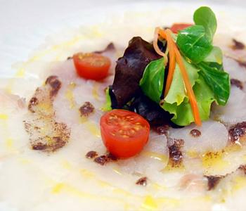 cocina italiana Carpaccio Vilaseca